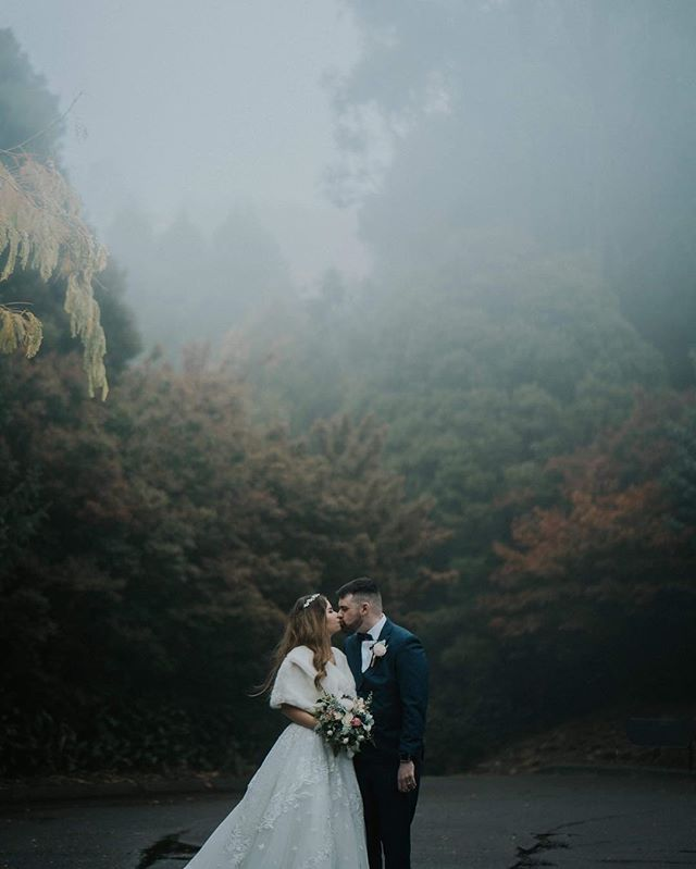 Capture a lovely couple in the Dandenong mountain yesterday.#autumnwedding #dandenongrangeswedding #marybrookemanor #foggyday #makeupbyjane #dandenongmountainswedding #yarravalleyweddings #melbournewedding