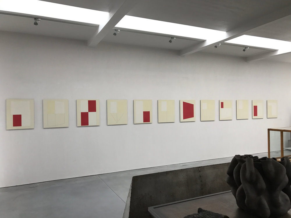 Winter Drawings install Corey Daniels Gallery 2017