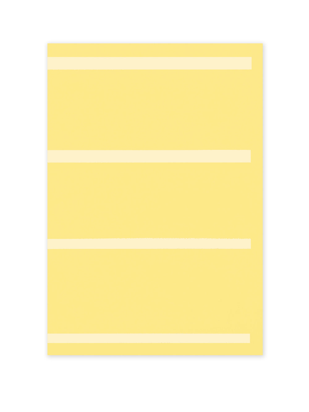 Lined Space Yellow