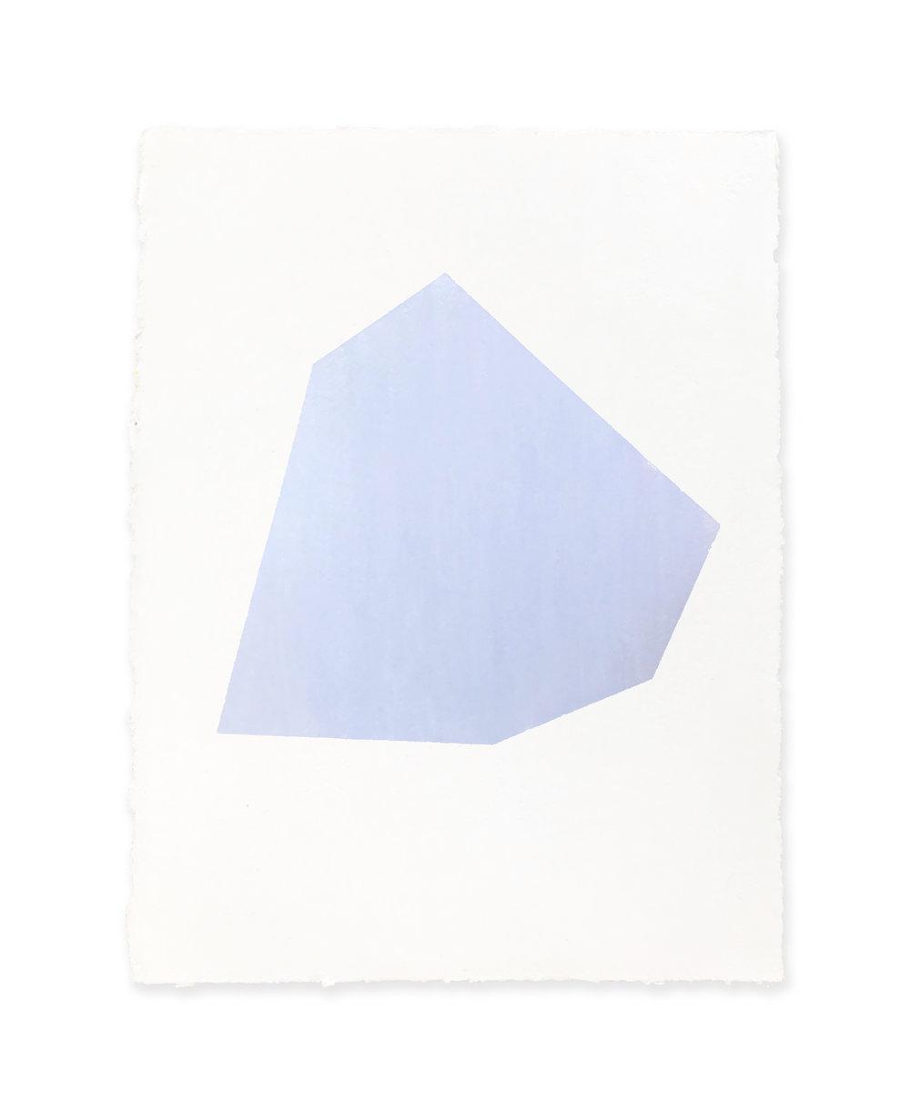 White w/blue