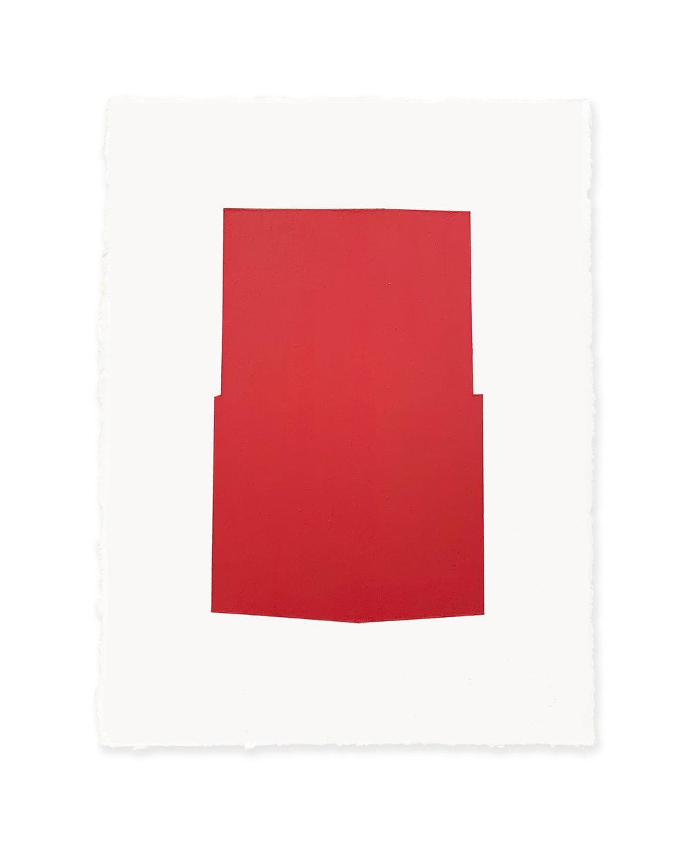 White w/red 2