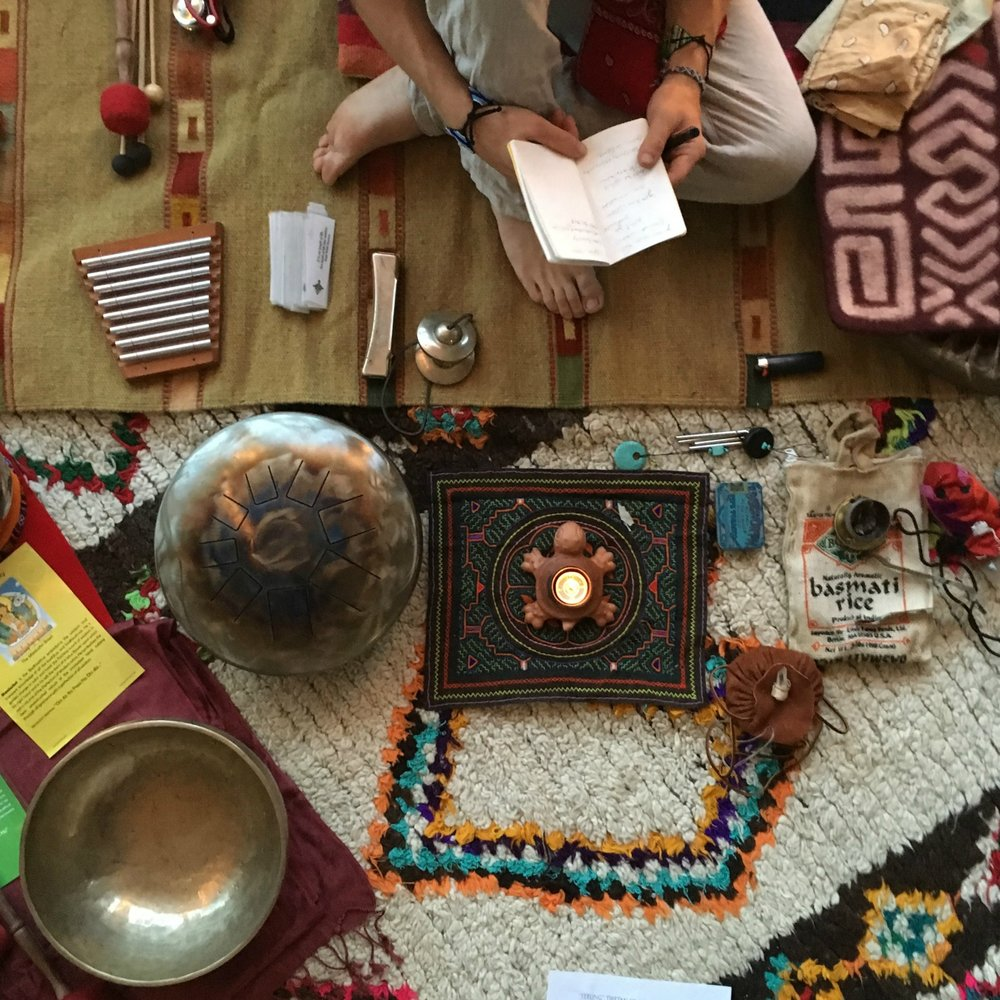 Sound healing is designed to harmonize the body, mind and spirit.