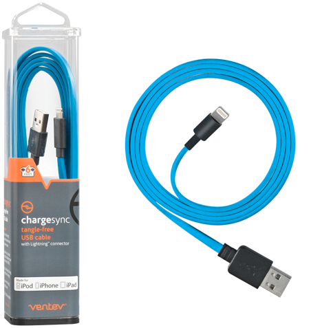Ventev Chargesync Apple Lightning cable blue 6ft.png