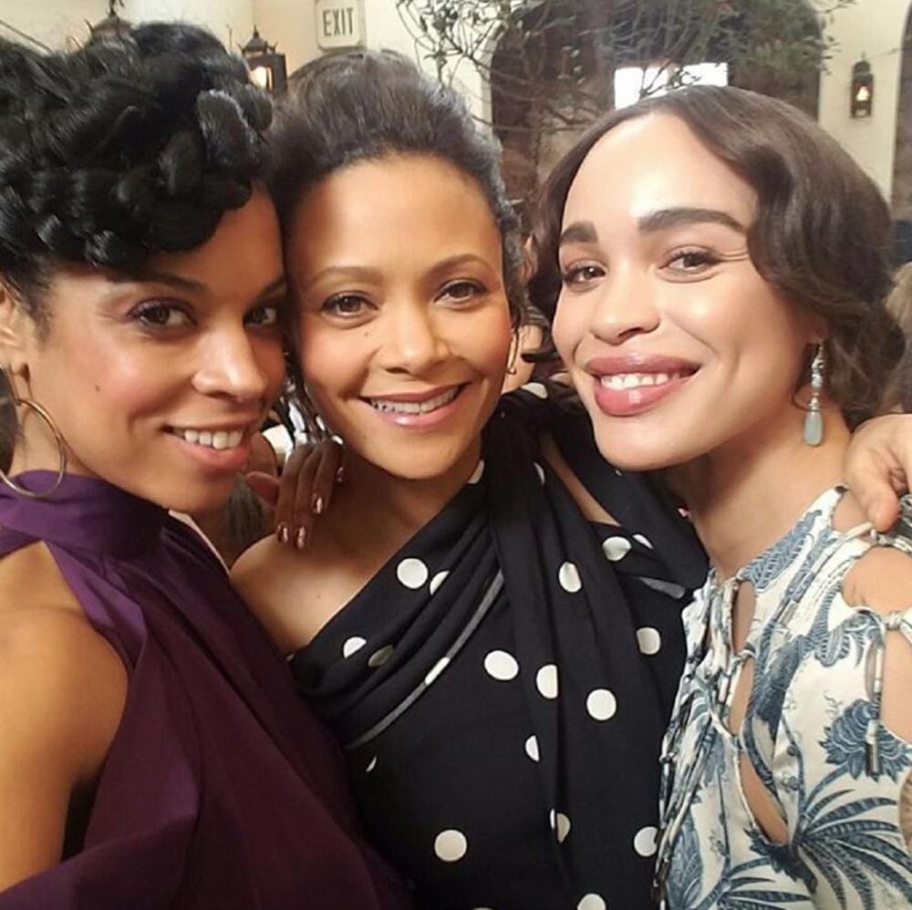 Susan Kelechi Watson, Thandie Newton, and Cleopatra Coleman