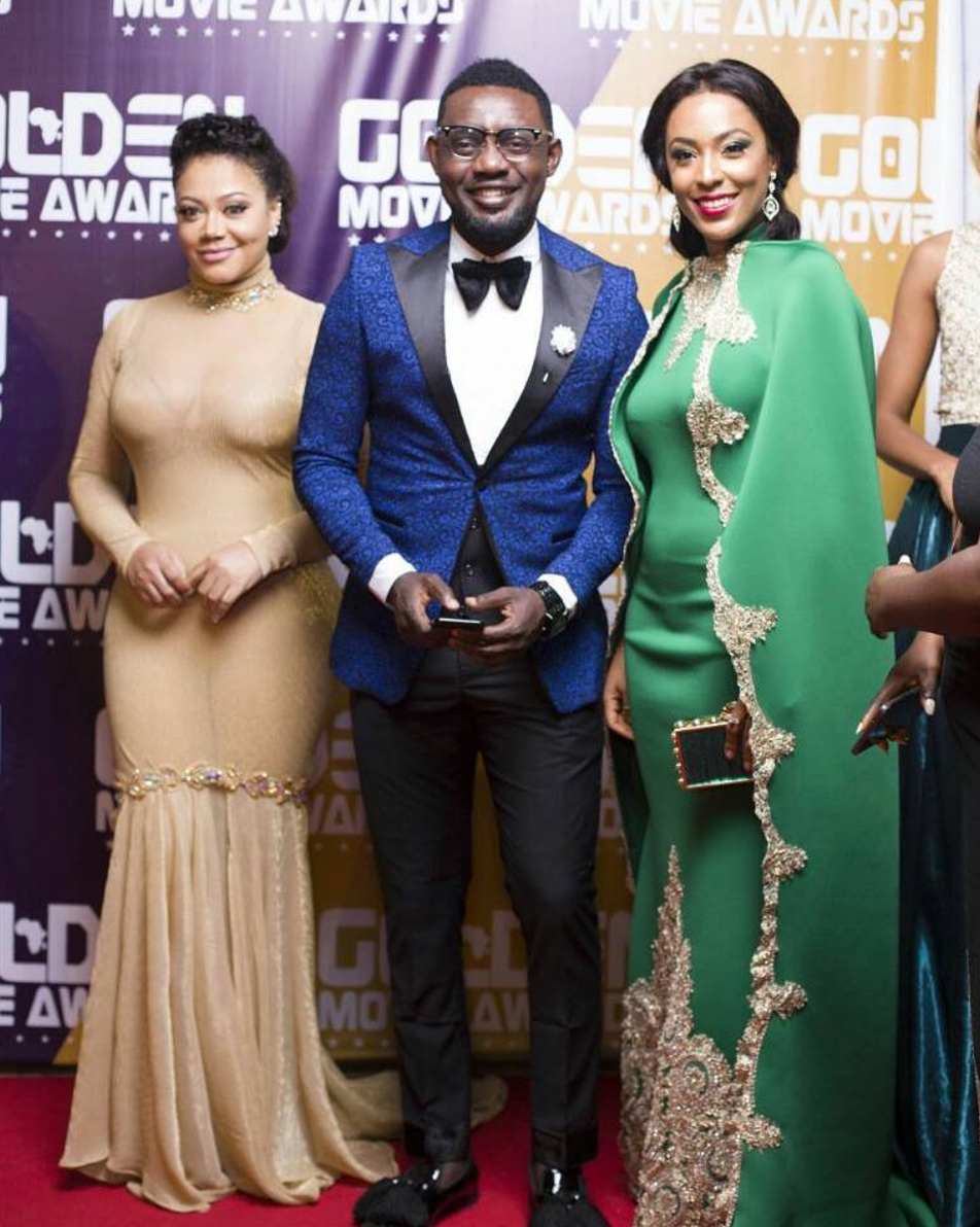 Nadia Buari, Ayo Makun, and Nikki Samonas