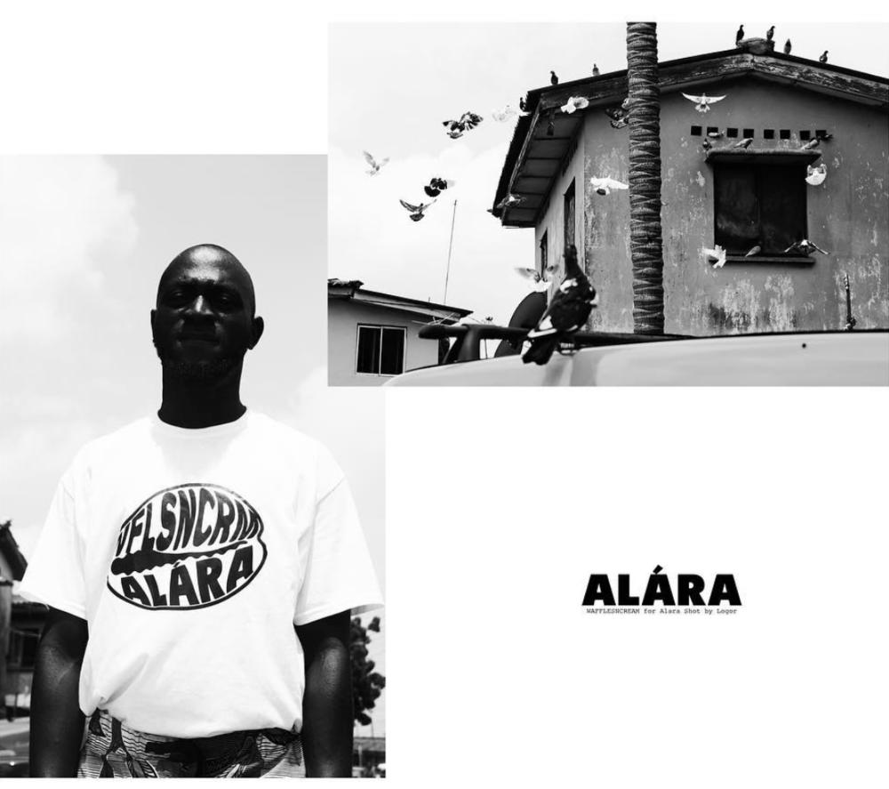 ALÁRA x WFLSNCRM - A recent collaboration with new design talent / @alaralagos