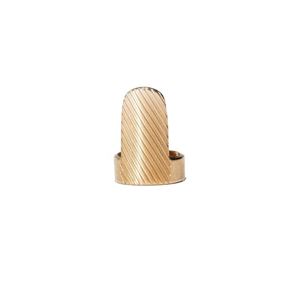 OHIRI Gold Vermeil Nail Ring