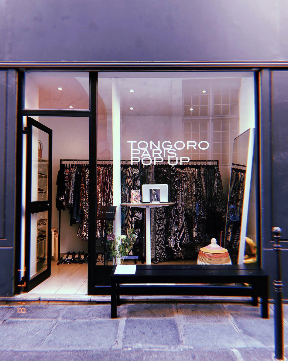 Tongoro Studio Paris Pop-Up