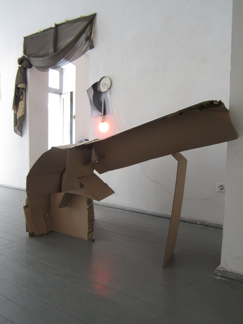 FlatPat (bent)   &   Member of The Family   - installation view