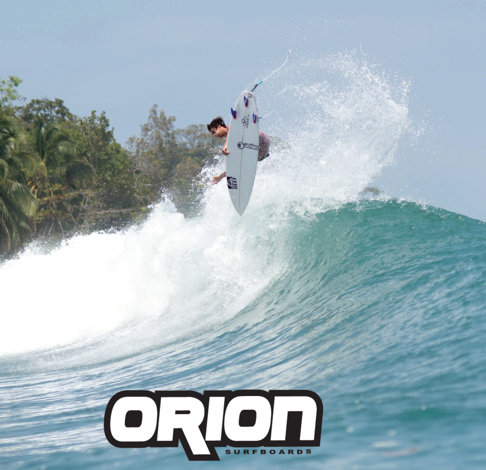 The 2017 Orion Surfboards Brochure