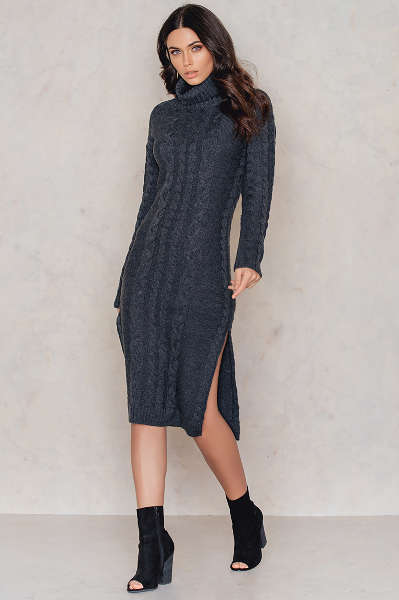 Braided Knitted Dress | NA-KD