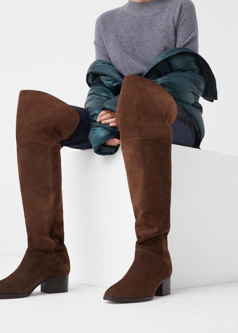 XL Boots | Mango