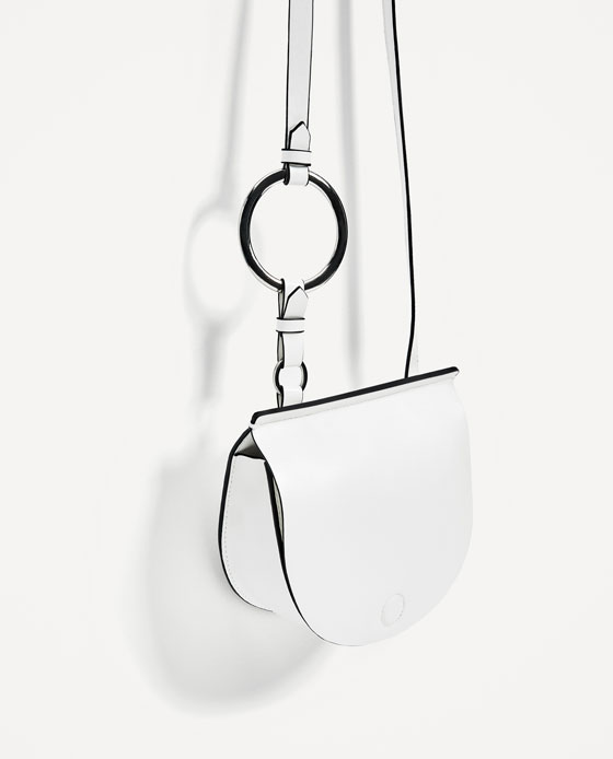 White Ring Bag
