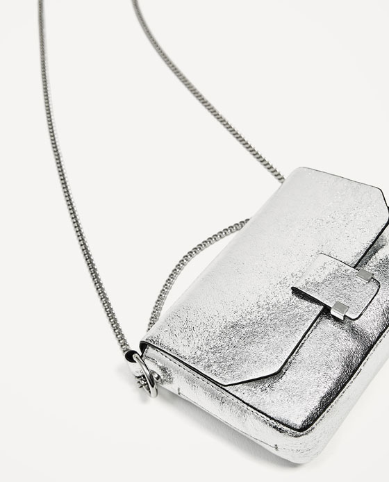 Silver Crossbody