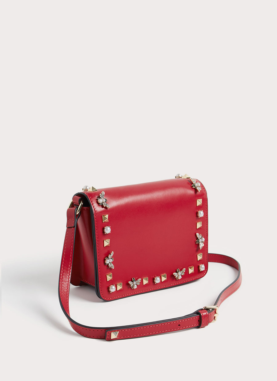 Red Mini bag Uterque