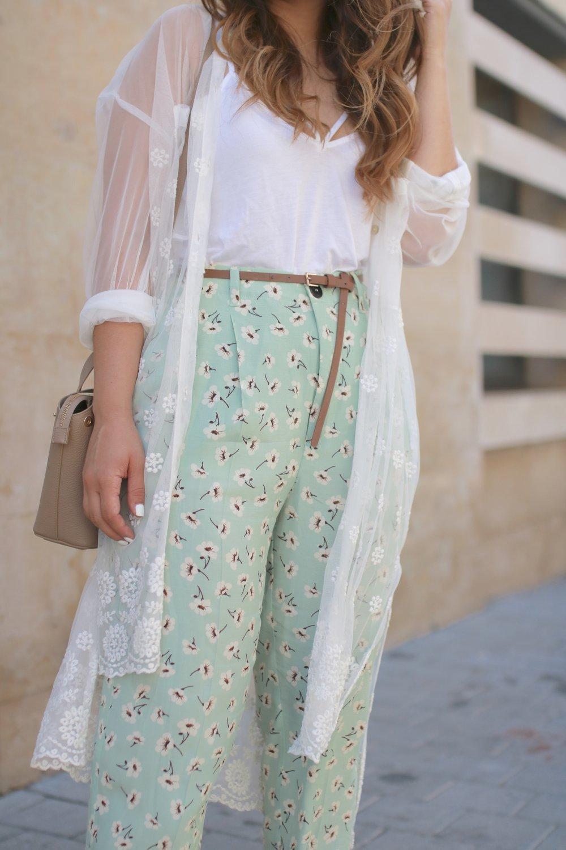 Flower pant