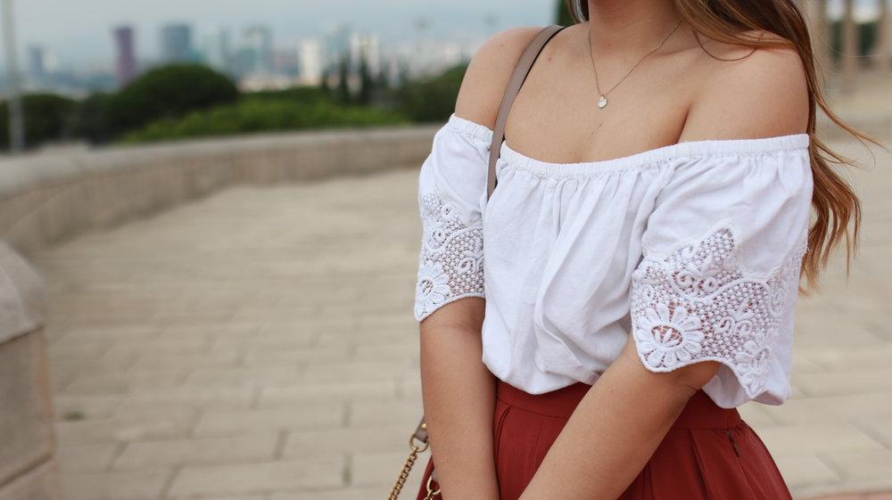 Red Culotte