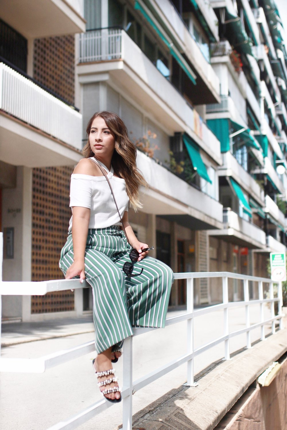 Culottes in summer