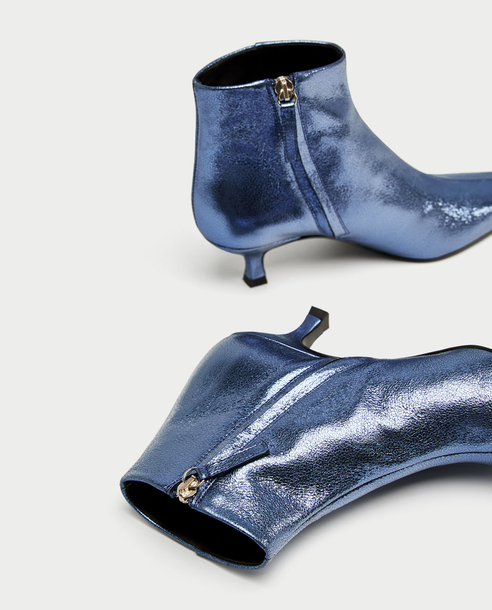 Zara Blue Boot