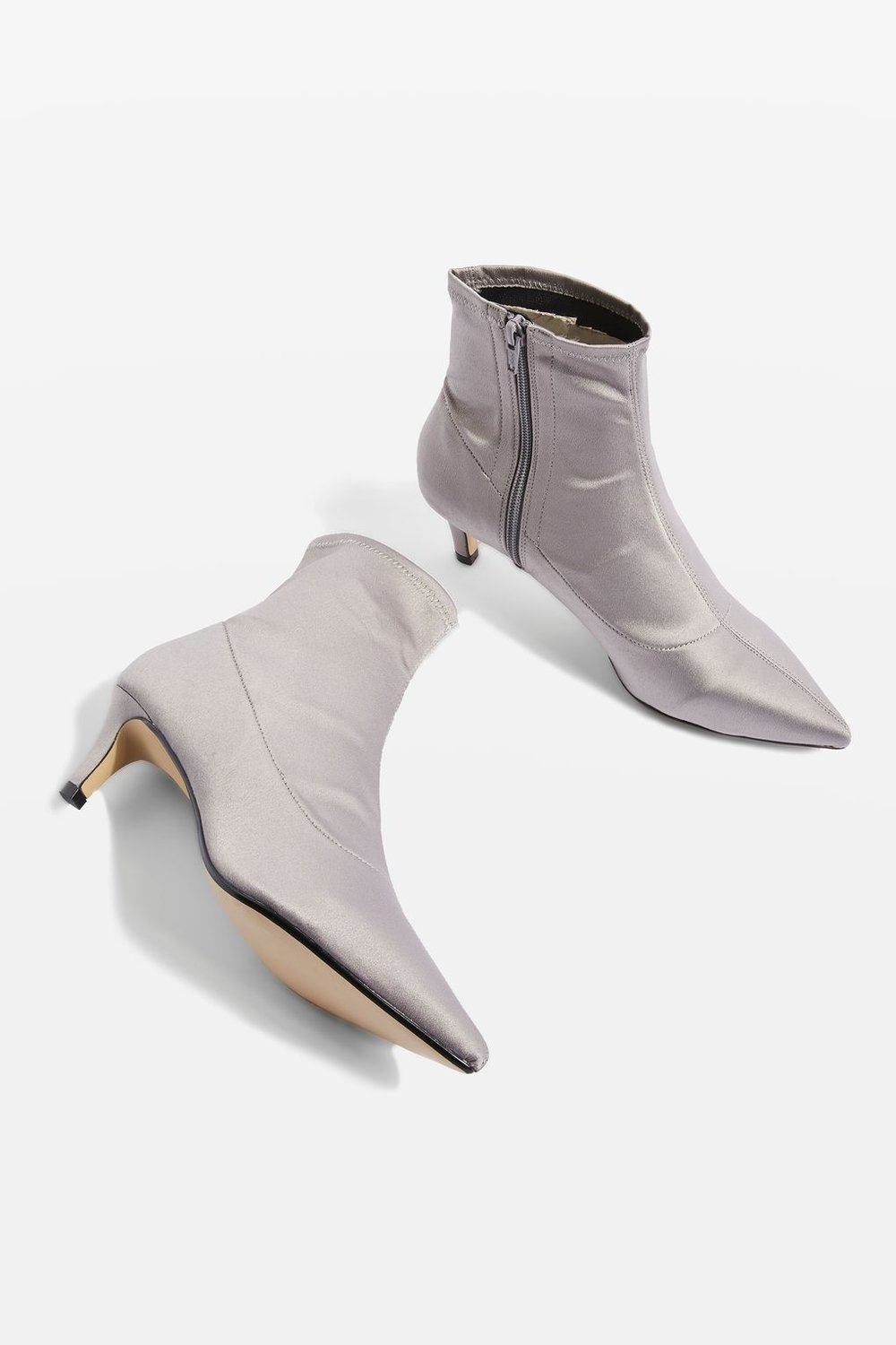 Metal Ankle Boots