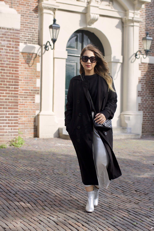 Silver Zara Pants