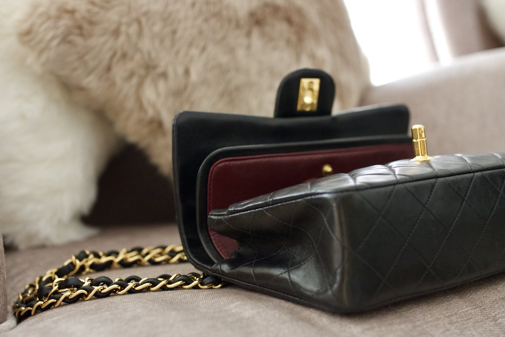 Small Chanel Double Flap Bag