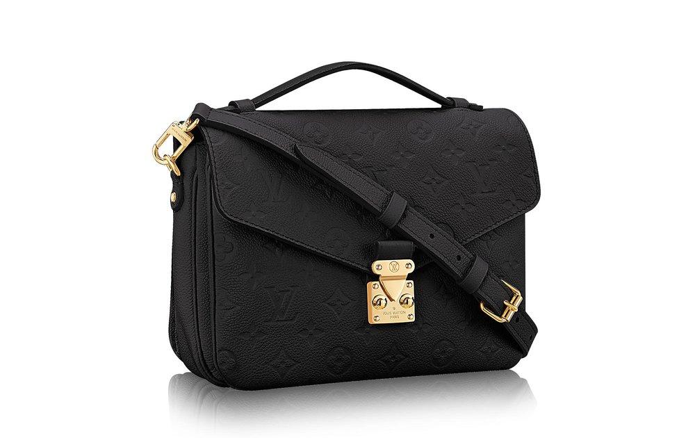 Louis Vuitton Pochette Metis Black