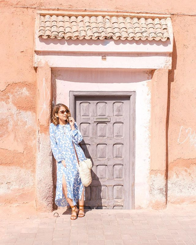 Feeling like in a crazy and exotic movie around here ✨✨ #marrakech #morocco #soratravels