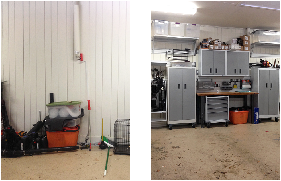 gladiator garage works install tallahassee organizer