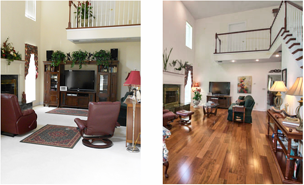 home staging tallahassee before and after