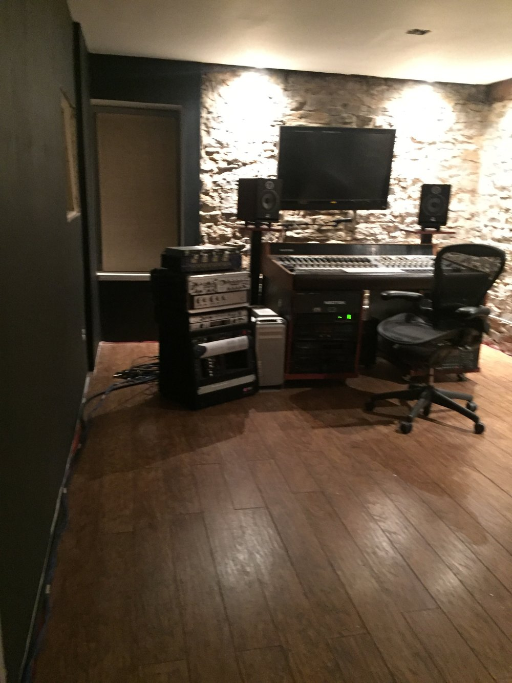 starting to look like a recording studio at stone house recording studio grand rapids michigan