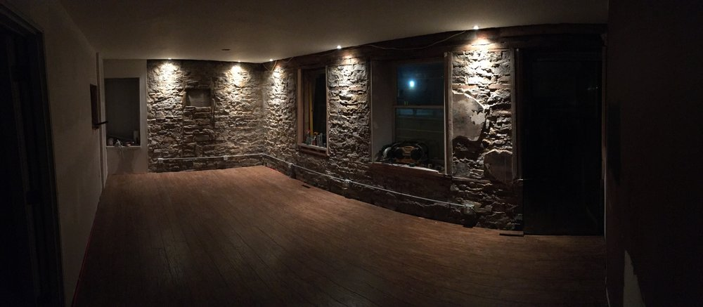 Floors are done at stone house recording studio grand rapids michigan