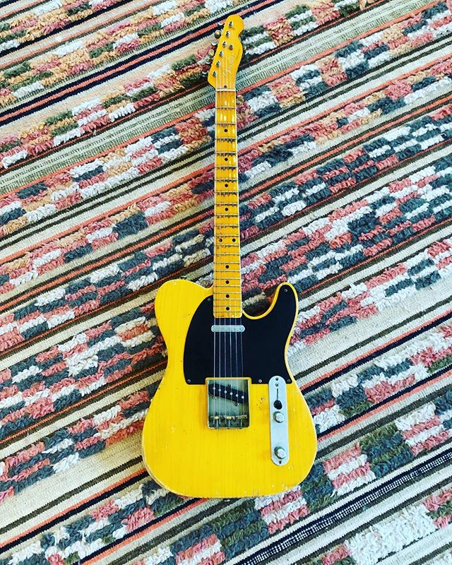 Picked up a Nash T52 Tele, incredible sounding!