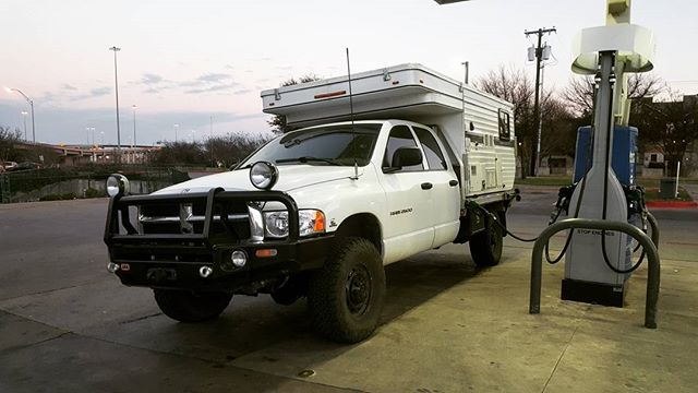 I live, I die, I live again. The Mule's back from surgery, complete with a new fuse box. Here's to the next 320,000 miles. #bowmanodyssey #cummins #ramtrucks #fourwheelcampers