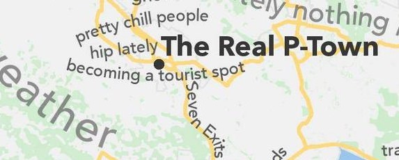 Petaluma has become quite the spot for local tourism, especially recently. A map published earlier this year based on Urban Slang for local areas has Petalumans worrying about the integrity of their small town. Read about it in the Rivertown Report.