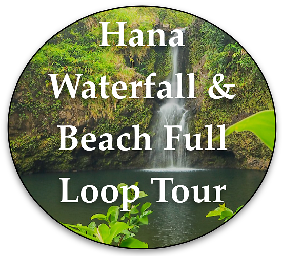 Hana Waterfall and Beach Full Loop Tour By Local Maui Tours