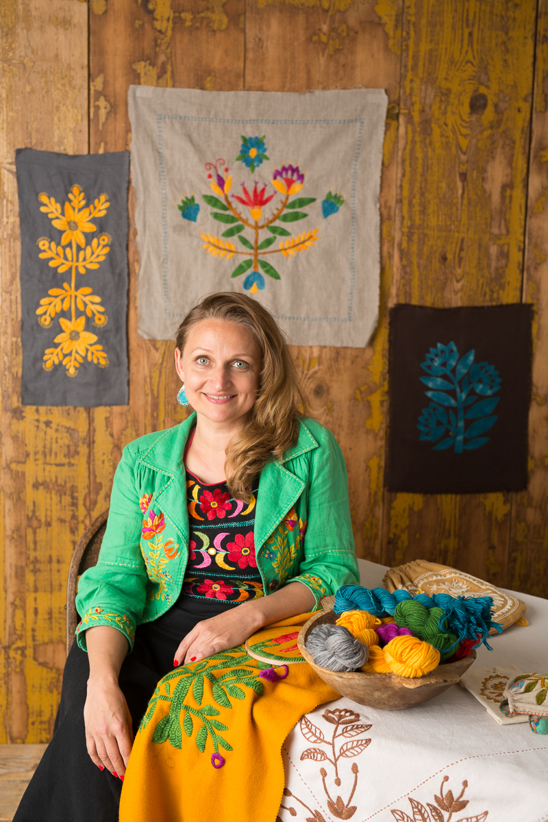 You are invited to a 9 week embroidery course… -