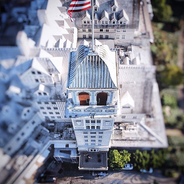 The iconic Claremont Hotel.