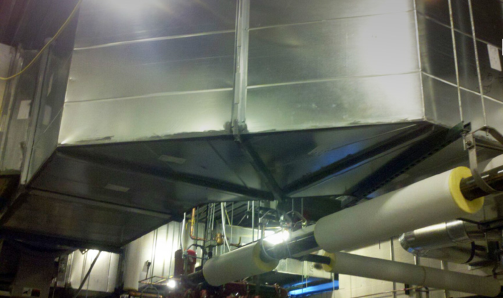 Physicians Surgery Center Ductwork