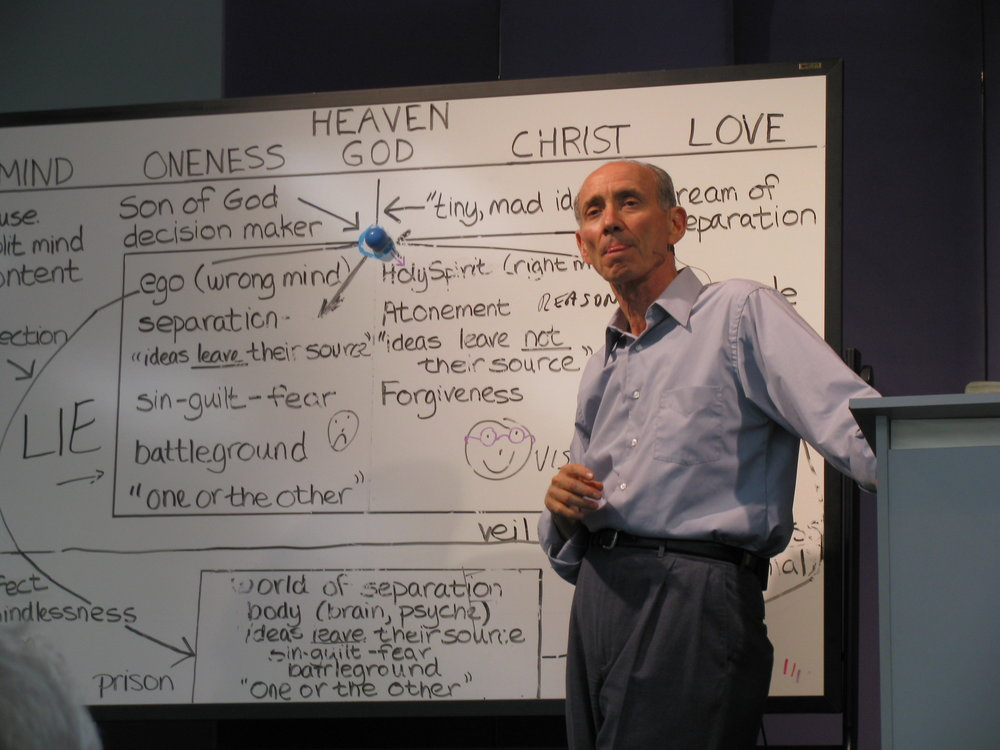 Teaching at the Foundation for A Course in Miracles