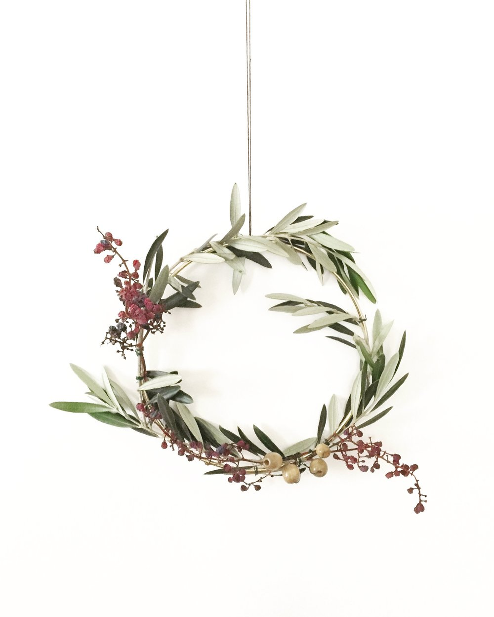 DIY Foraged Wreath 11