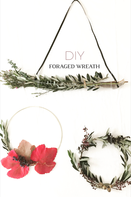 DIY Foraged Wreath 14
