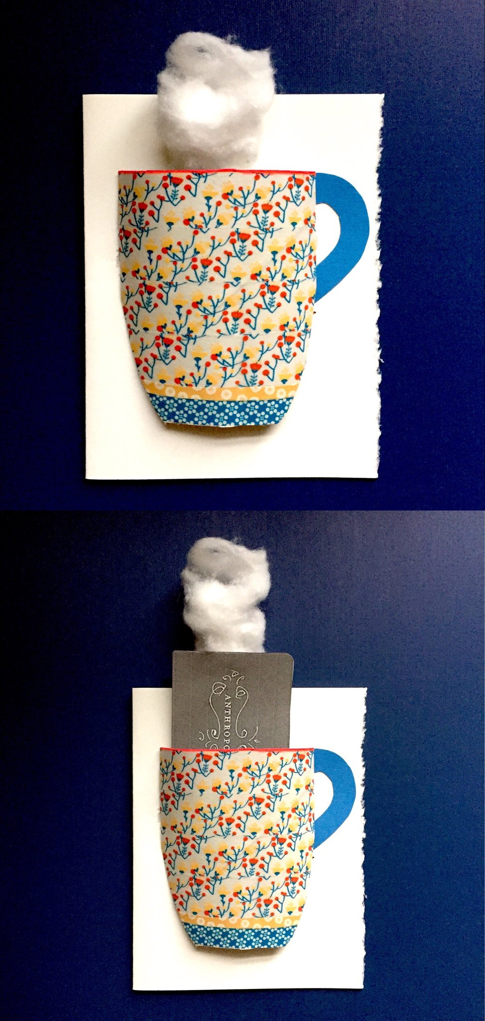 DIY Tea Cup Card 1