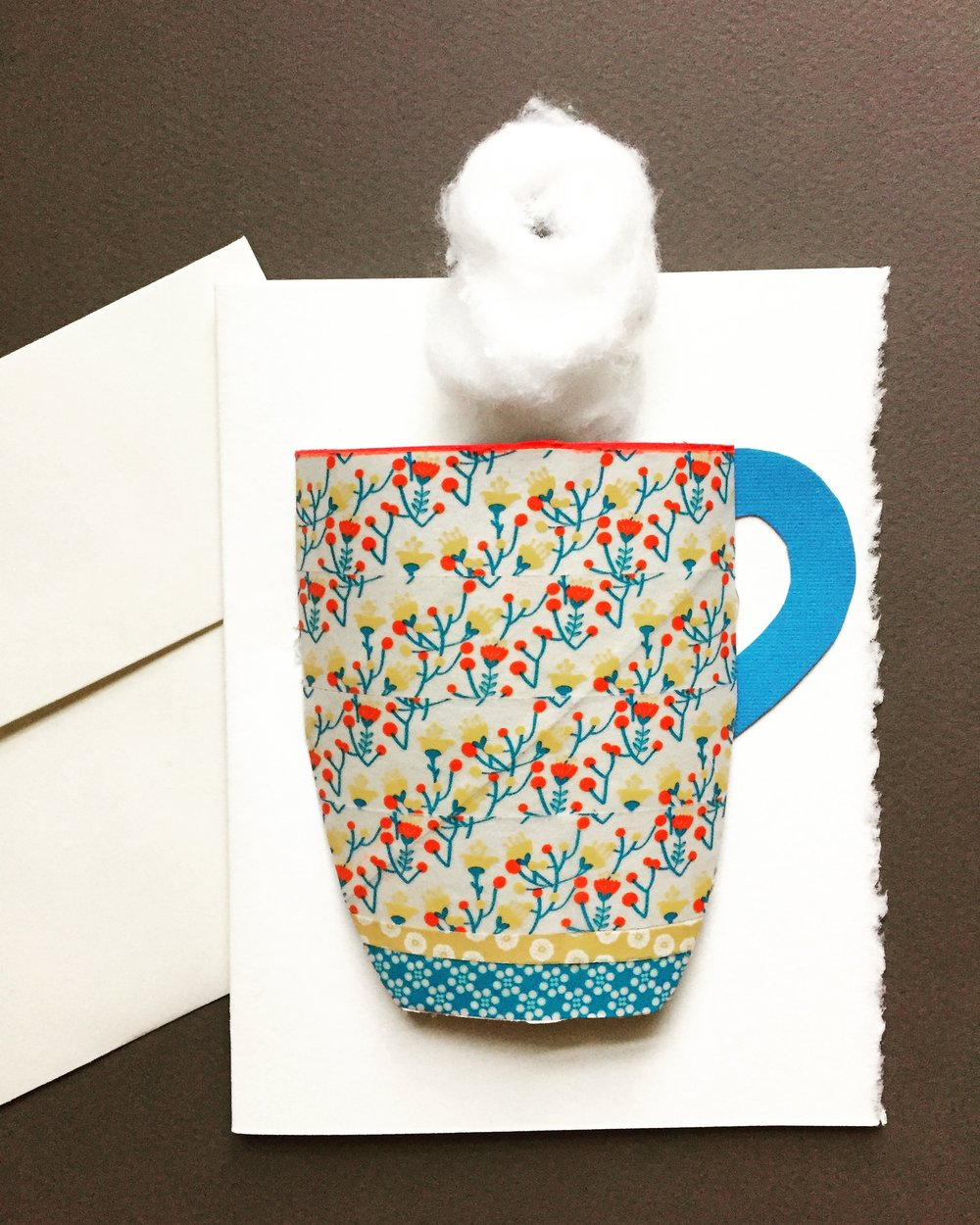 DIY Tea Cup Card 9