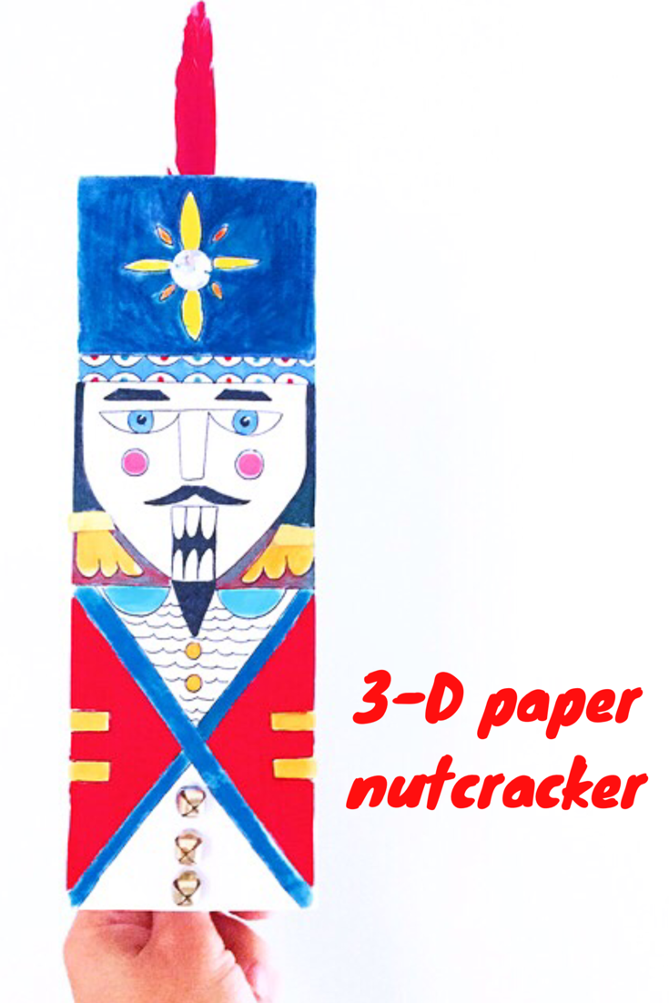 DIY 3-D Nutcracker 9
