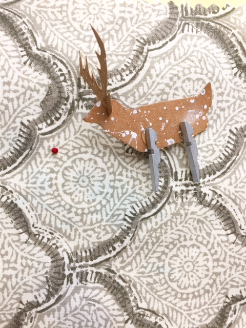 Clothespin Rudolph Ornament 9