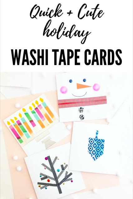 Washi Tape Cards 6