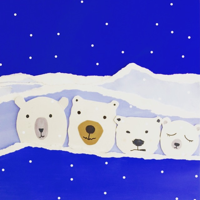 Polar Bear Value Painting 1