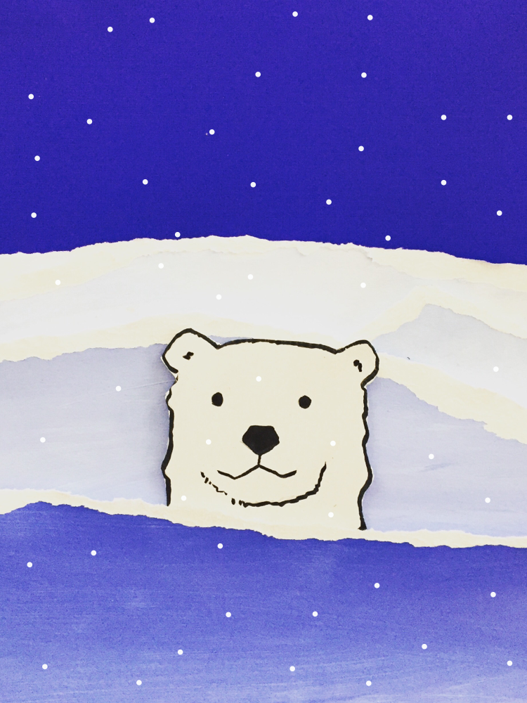 Polar Bear Value Painting 9