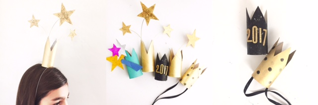 DIY New Year's Eve Crowns 6